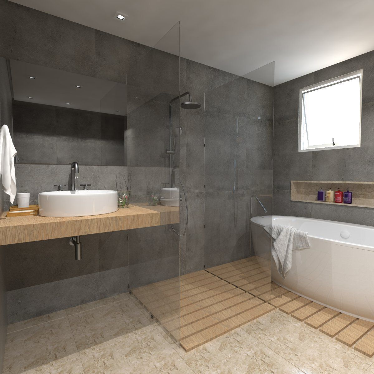 Detailed Bathroom 3d Model Skp 3 Bathroomdesign3dmodel Idee Salle De Bain Salle De Bain Design Salle De Bains Moderne