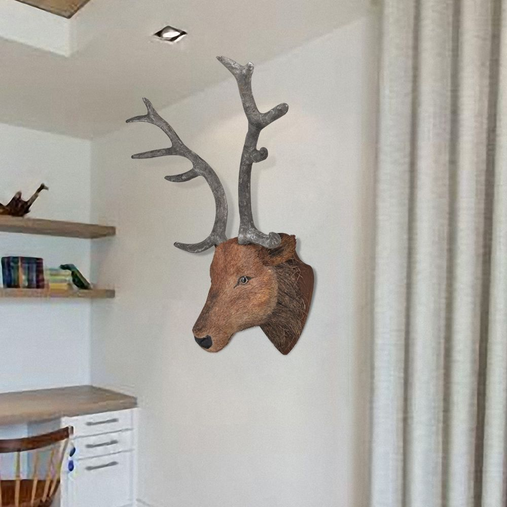 New Wall Mounted Deer Head Stag Head Wall Hangings Wall Decoration Home Decor