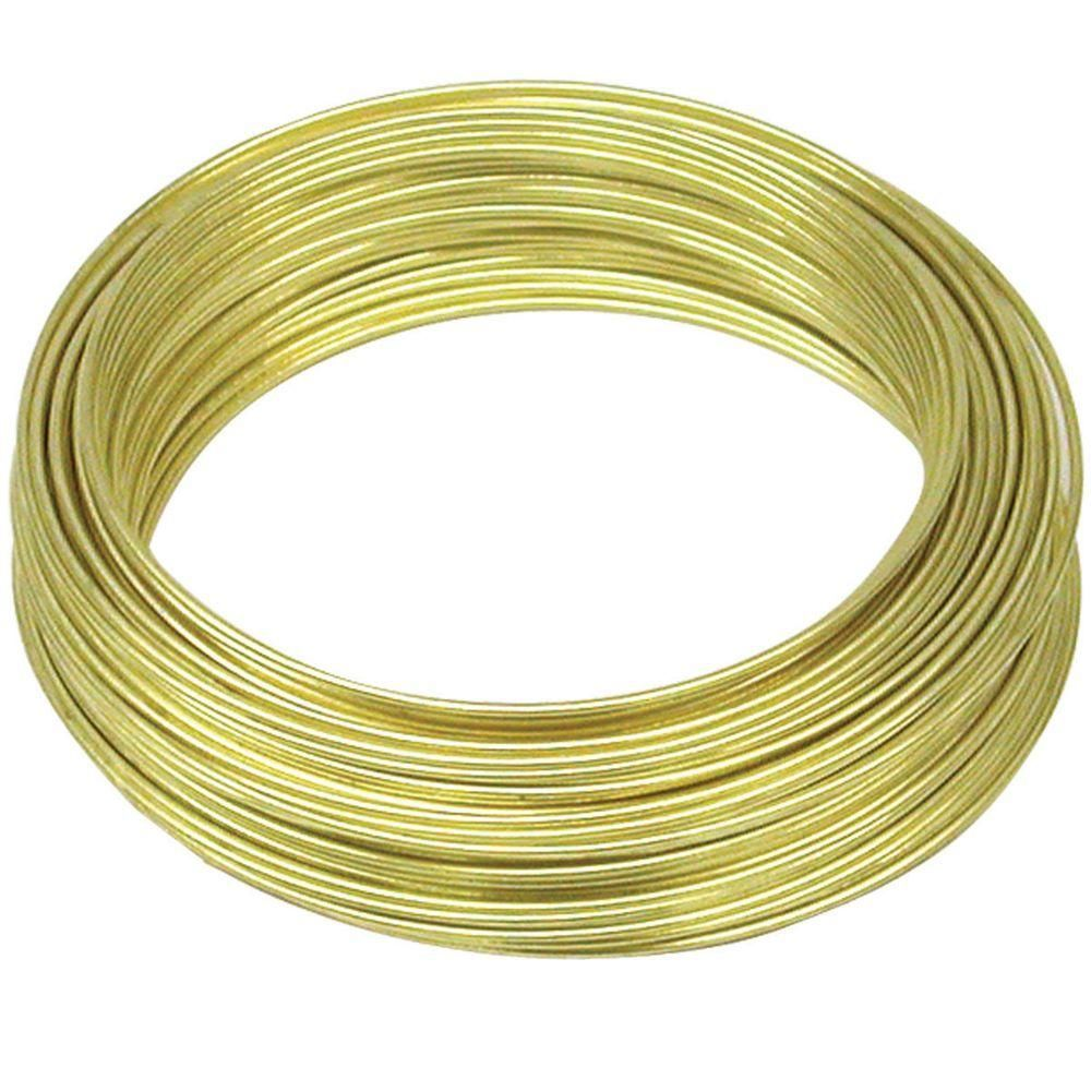 Ook 50 Ft Aluminum Hobby Wire50176 The Home Depot Wiring Data 22 Gauge 75ft Brass Wire Pinterest Gauges Wrapping Rh Ca