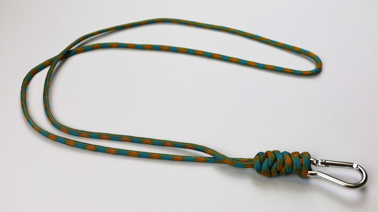 How To Make A Snake Knot Paracord Lanyard Tutorial Youtube With