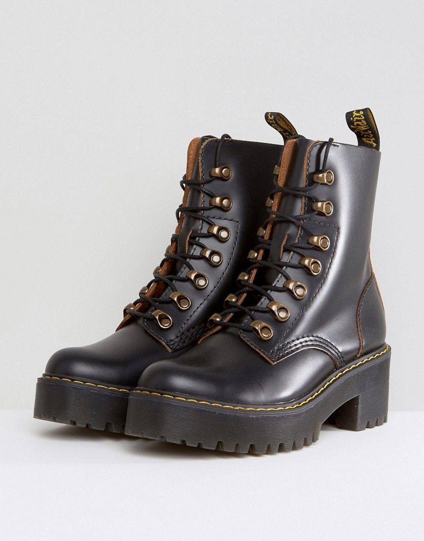 best sell choose latest most reliable Dr Martens Leona Hiker Chunky Lace Up Ankle Boots | Fashion ...