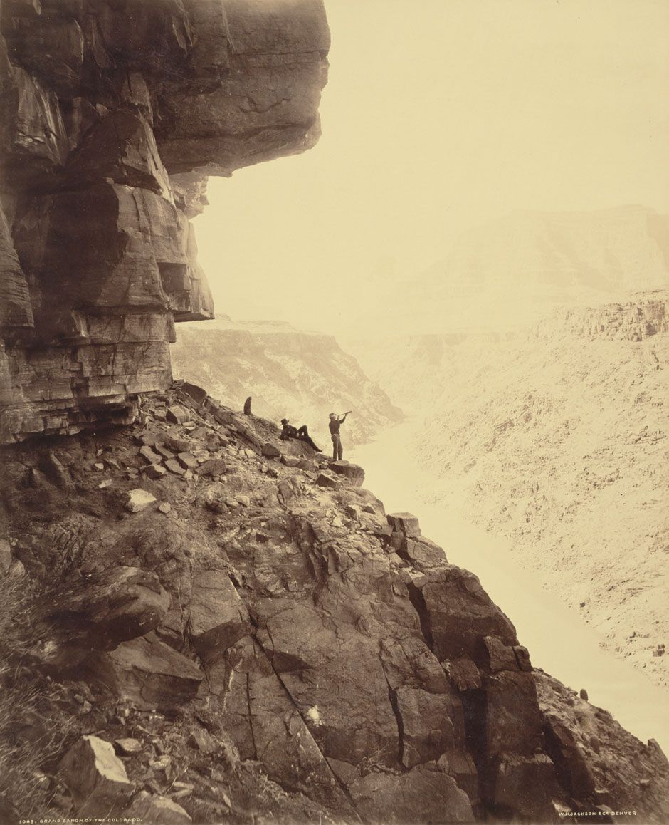 Jackson, William Henry. (1883) Grand Canyon of the Colorado River ...
