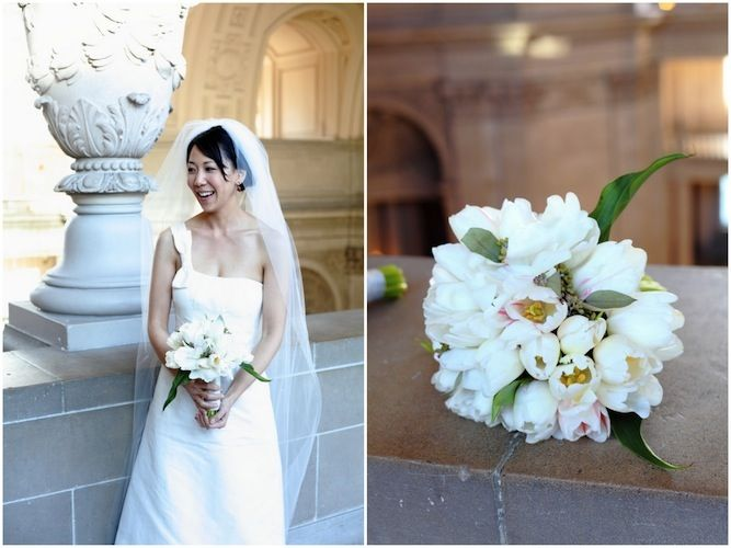 Chic And Simple San Francisco City Hall Wedding Wedding Bridal