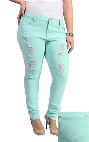 Woman Jeans Plus Size Pants Candy Color Slim Trousers Skinny Stretch Pencil For Womens