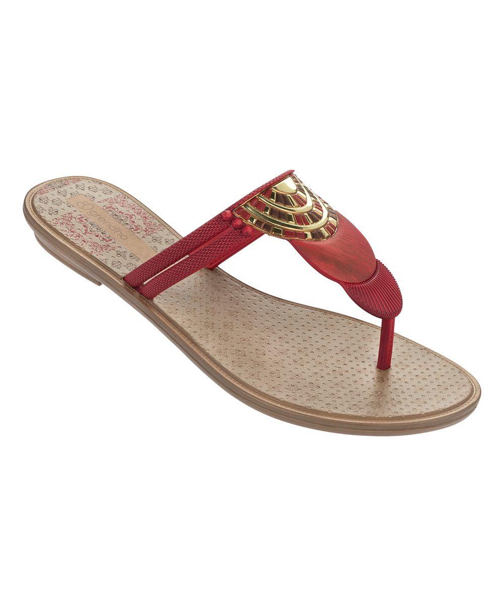 Zapatos negros con hebilla étnicos Grendha para mujer Xf0qN9z