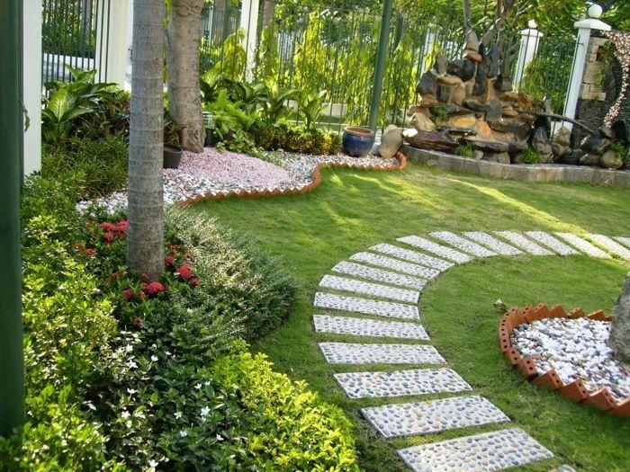 beau jardin allée | Allée de jardin | Pinterest | Beaux jardins ...