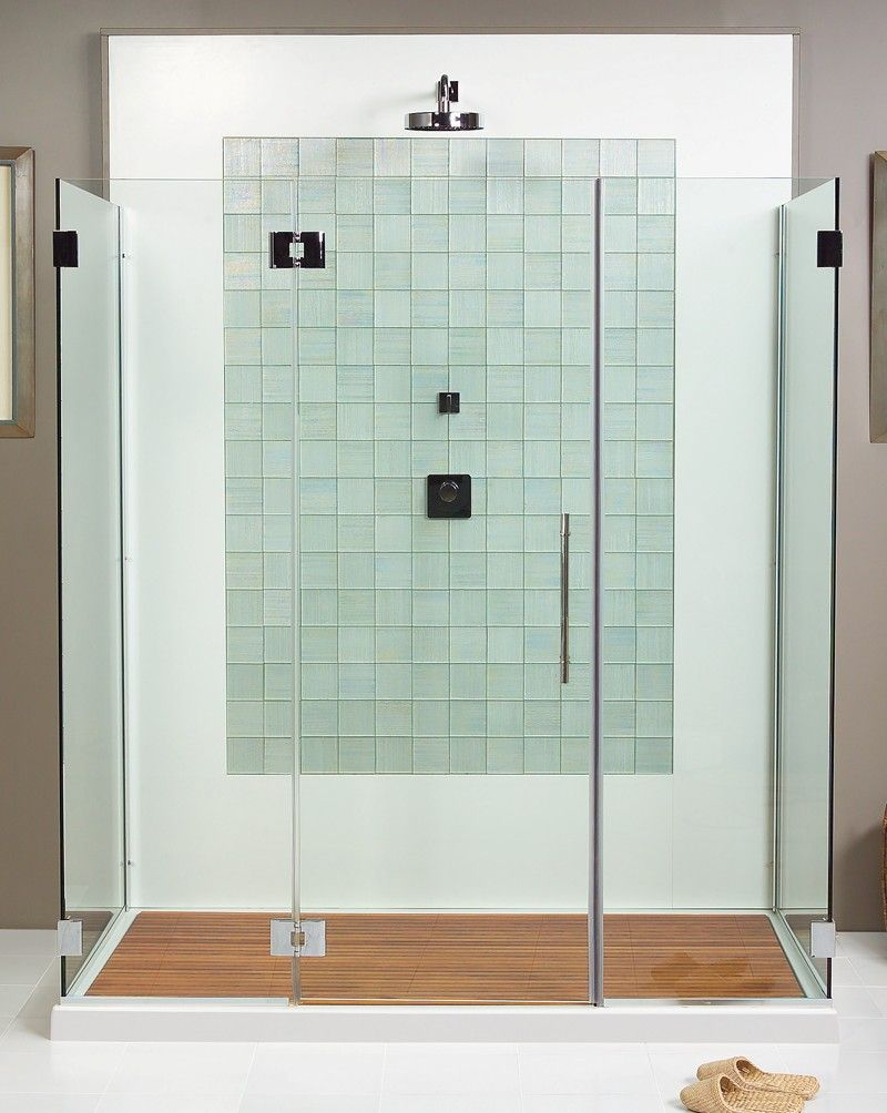 Teak Shower Floor Decorating For Inspire You Modern Brown Color Scheme Rectangle Shaped With Gl Materials Front Door And