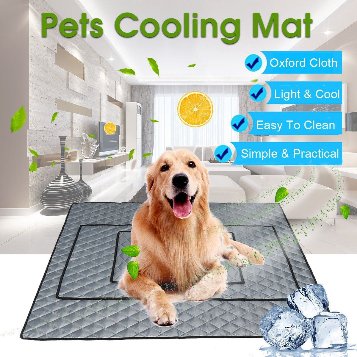 Letnie Sobaka Ohlazhdeniya Mat Pet Lda Ploshadku Teddi Matras Kovrik Kot Podushka Leto Keep Cool Krovat Gel Pet Ohlazhdeniya Mat Dlya Sobak Pet Cooling Mat Summer Dog Pets