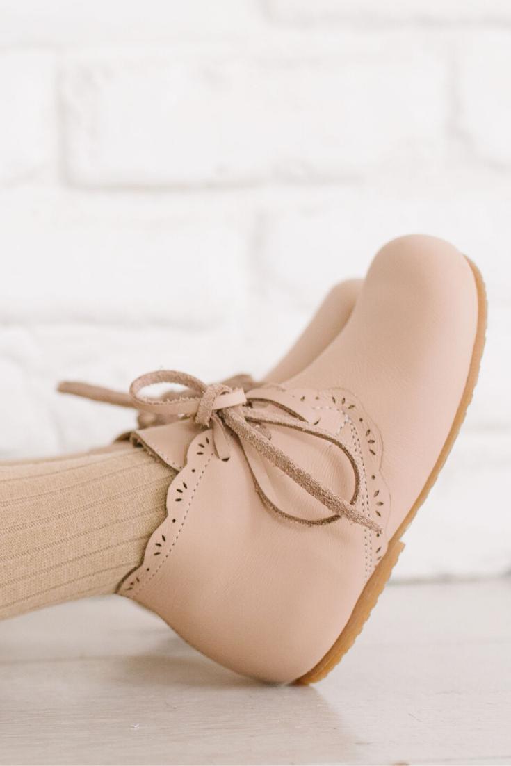 Primavera {Children's Leather Boots} in