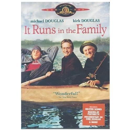 It Runs in the Family (DVD, 2003) Michael and Kirk Douglas