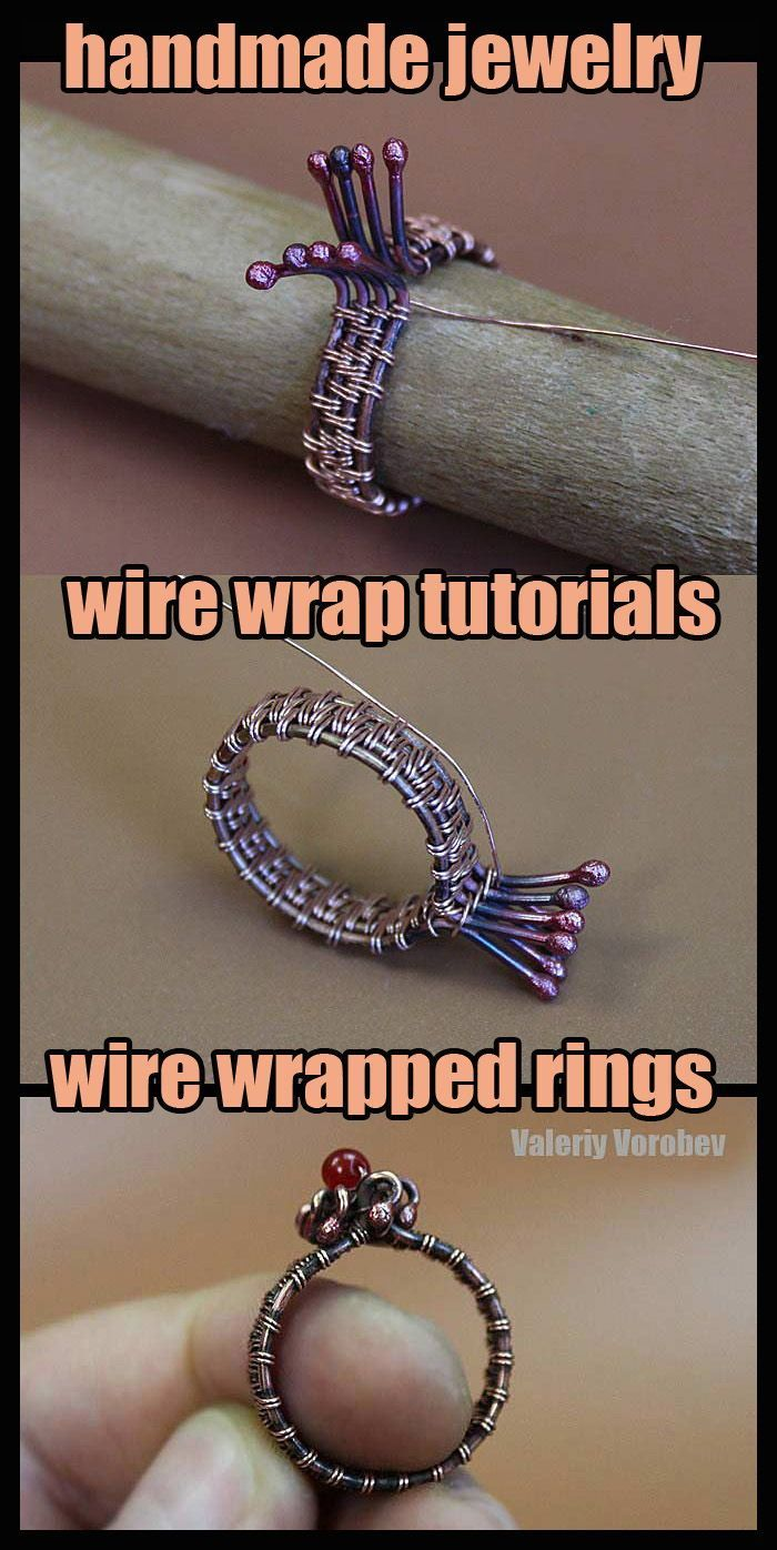 Photo of Wire Weaving Basics – Ring. Wire wrapping tutorial. – Handma