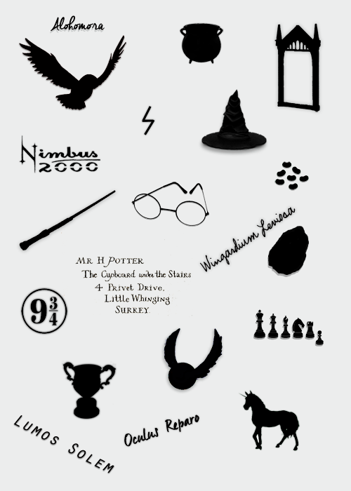 Symbols Harry Potter Pinterest Harry Potter