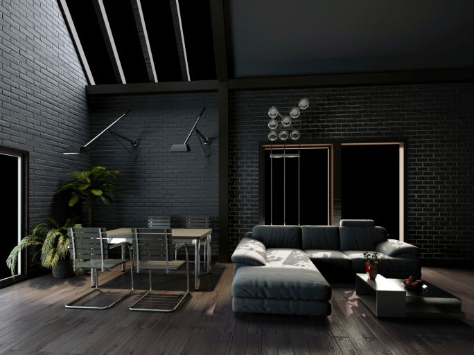 78 Stylish Modern Living Room Designs In Pictures You Have To See. Dark  Grey WallsDark ... Part 24