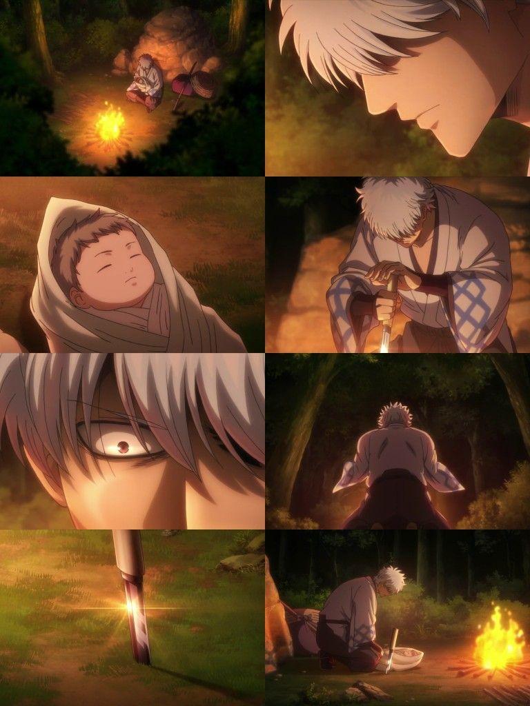 Sakata Gintoki Baby Utsuro Gintama Ep 365 Anime Gintama