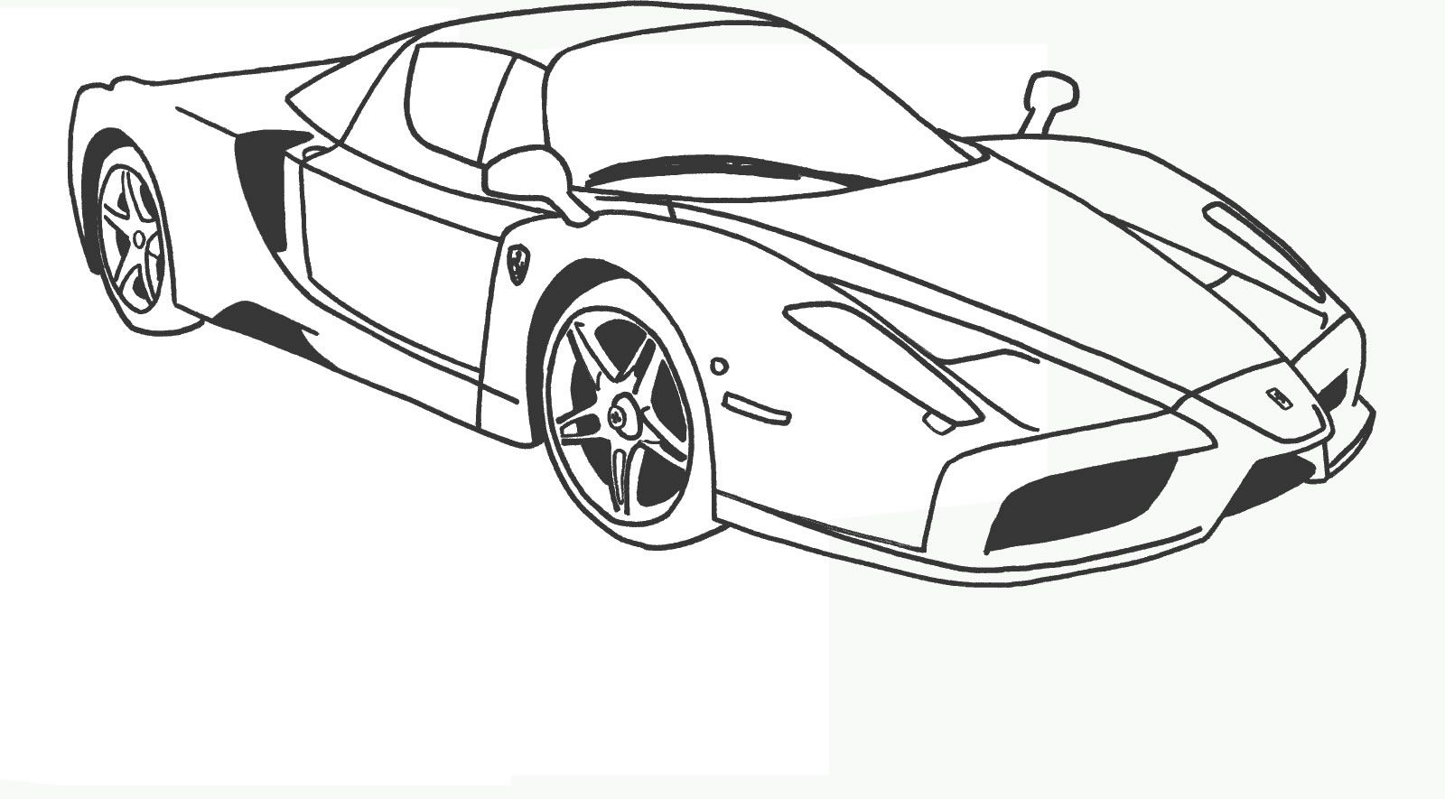 Ferrari 7 Ferrari Coloring Pages Disegni Da Colorare