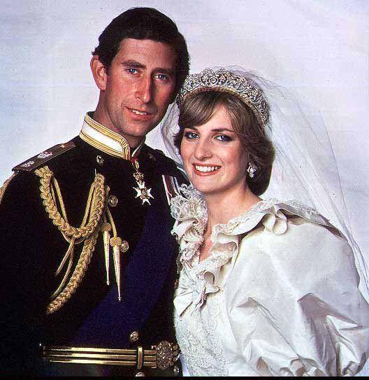 Charles Diana Lady Diana Prinzessin Diana Hochzeit Prinzessin Diana