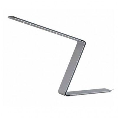 'ZED' - Table luminaire with powder-coated aluminium body in white, black or grey. Electronic power supply included.