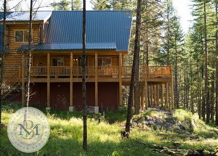 Lakeside 2 br Lake View Vacation Rental Home: Beautiful, log cabin on Blacktail Mountain!