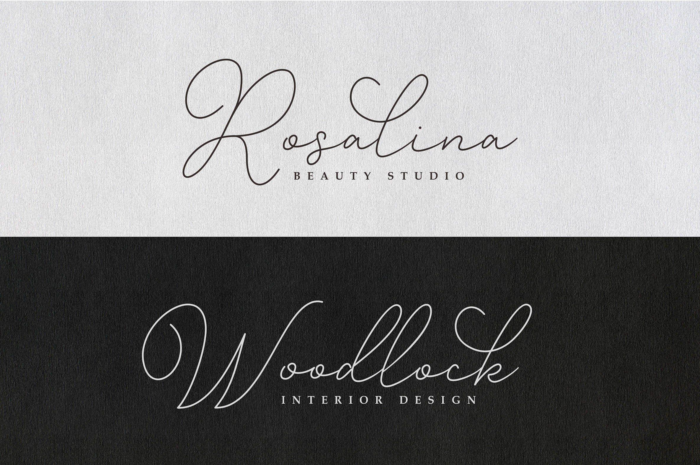 Gisellia Modern Font Family Modern Fonts Heart Font Beauty Posters