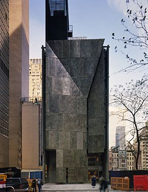 Former American Folk Art Museum At 45 W 53rd Street In New York City American Folk Art Art Museum Architecture