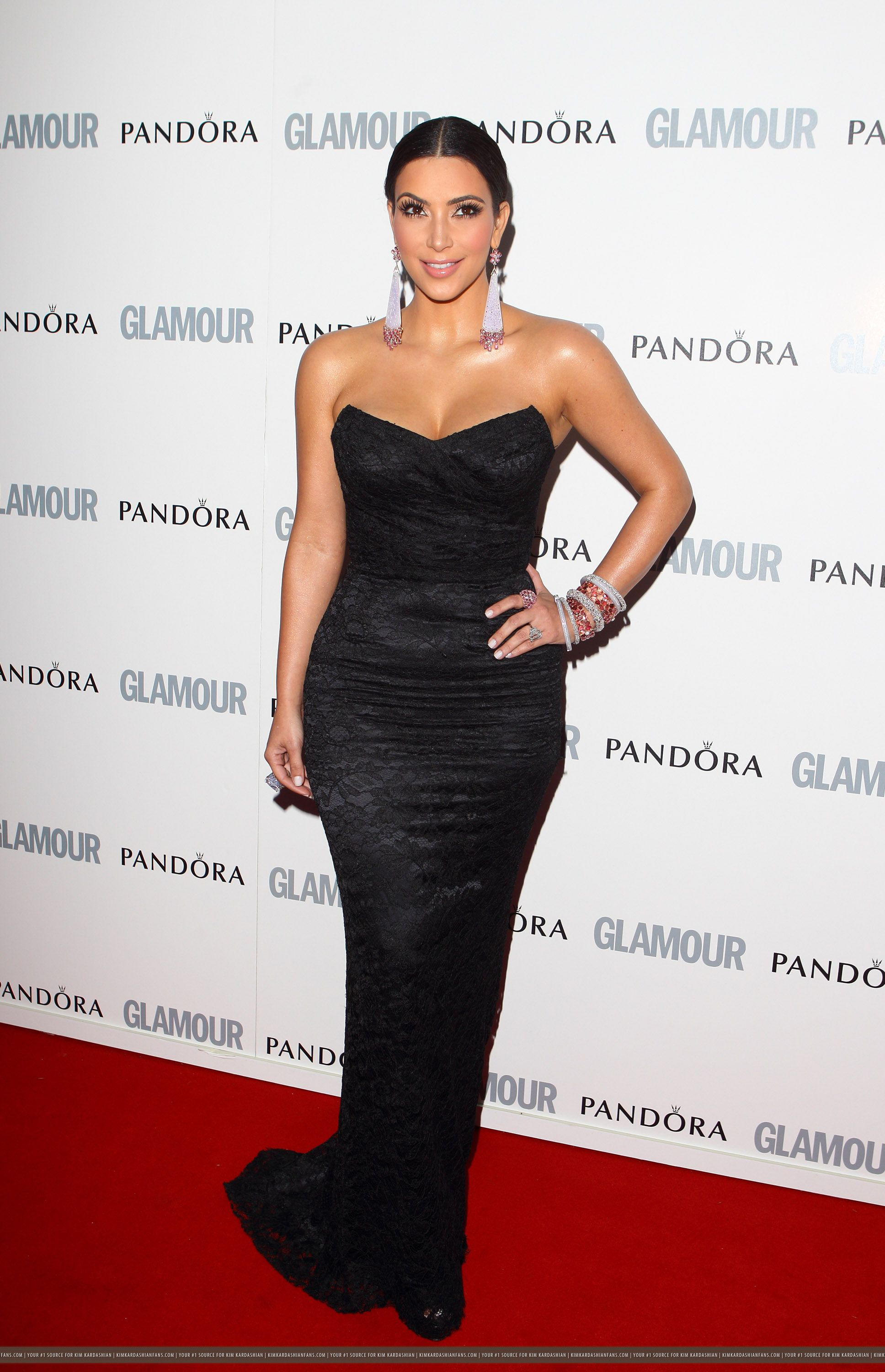 black dress kim kardashian | Looks - Dresses - Evening - Long ...
