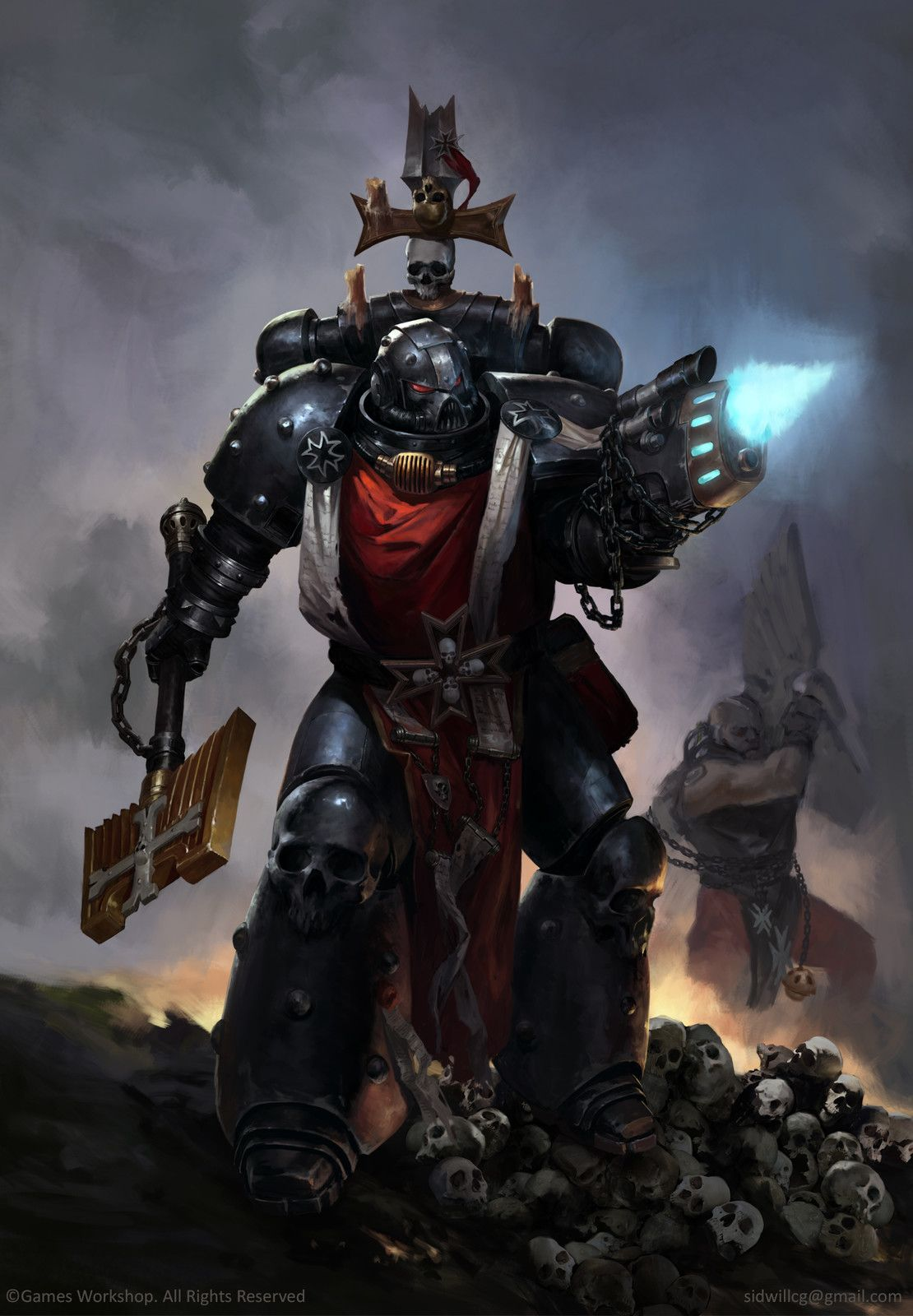 Pin By Charles Ohley On 40k Space Marines Warhammer Art