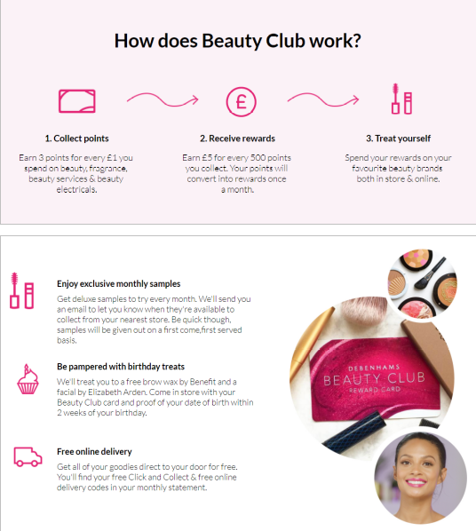 The New And Improved Debenhams Beauty Club Beauty Beauty Services Benefit Brow