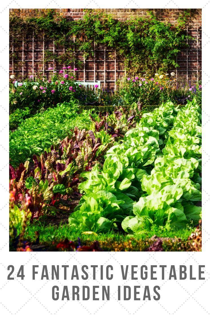 24 Fantastic Backyard Vegetable Garden Ideas Backyard 400 x 300