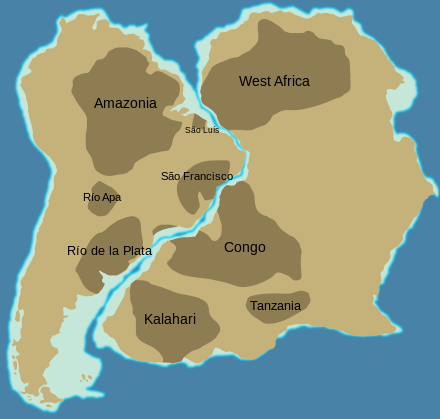 Kalahari Craton Wikipedia The Free Encyclopedia Geologia