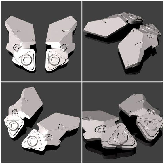 Horizon Zero Dawn Aloy SchildWeber Rüstung 3DDruck