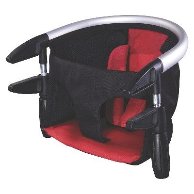 phil&teds Lobster Clip-On Highchair - Black/Red