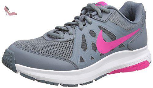 Nike Dart 11, Chaussures de Running Entrainement femme, Gris (Bl Grpht/Pnk