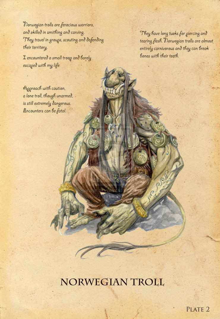 Norwegian Troll by eoghankerrigan on deviantART