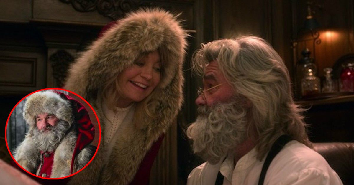 Kurt Russell And Goldie Hawn Reunited On Screen For The First Time In 31 Years Goldie Hawn Favorite Christmas Songs Santa Claus Movie