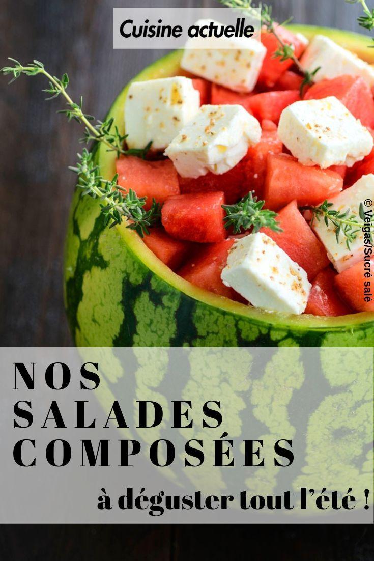 60 recettes de salades composées à déguster tout lété