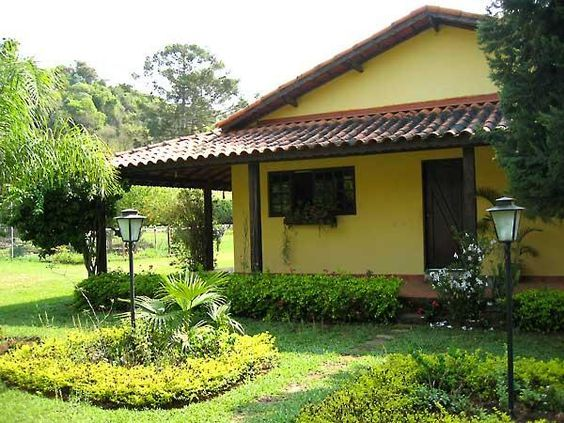Resultado de imagem para casa de campo casas de campo for Modelos jardines para casas pequenas