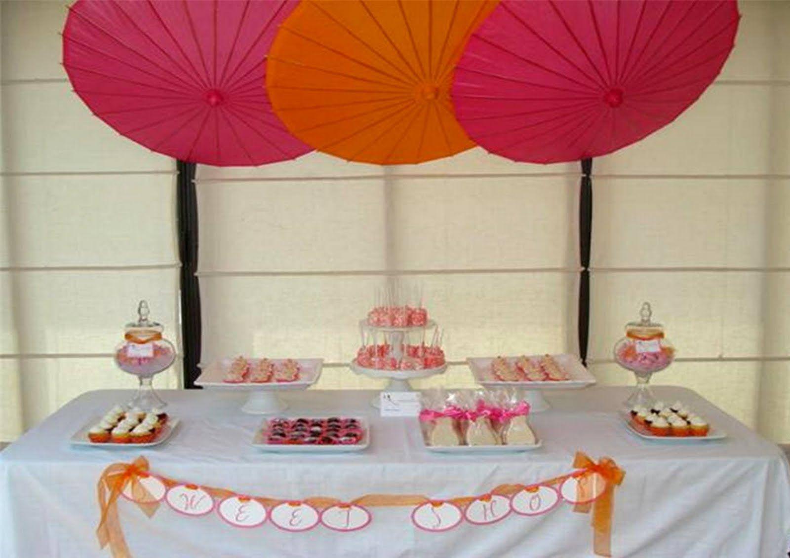 Icing Designs: Pink and Orange Bridal Shower | Ring a ding. Wedding ...