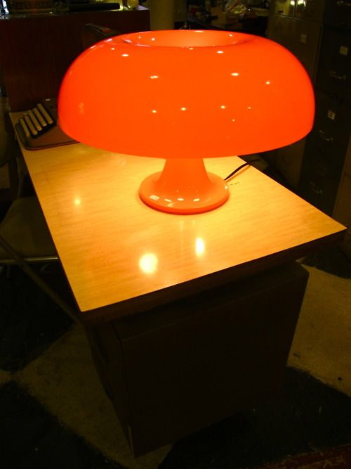 The Nesso Lamp 1967 Giancarlo Mattioli Design You May Recognize It From Roger Sterling S Desk On Mad Men Mad Men Decor Lamp Dream Furniture