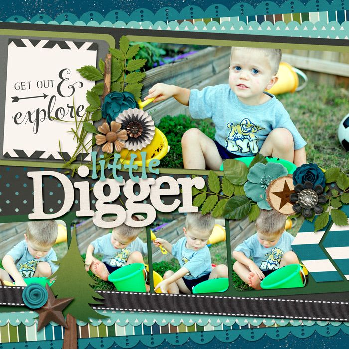 Cindy's Layered Templates - Half Pack 107: Spring Fever by Cindy Schneider Great Outdoors: Explore by Kristin Cronin-Barrow