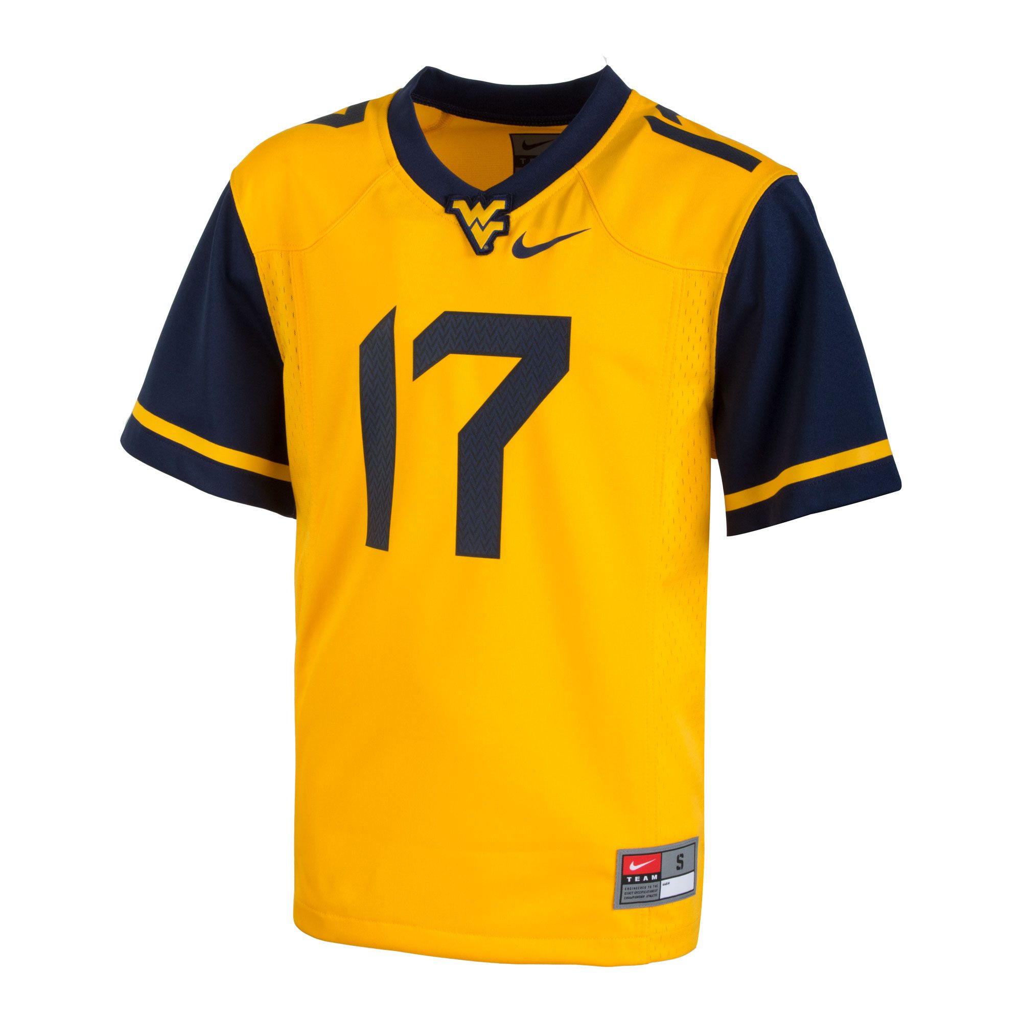 Your kids can show off their true blue and gold WVU