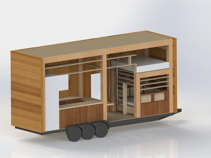 tiny house solidworks 3d cad model grabcad solidworks tiny
