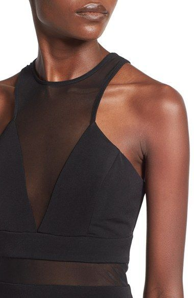 Photo of Way-In 'Wendy' High Neck Gown | Nordstrom
