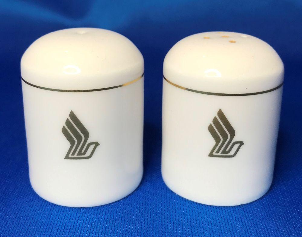 Singapore Airlines Narumi Bone China Individual Salt Pepper