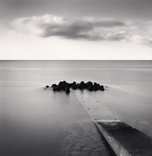 Michael Kenna - Tranquil Morning, Awati Island, Shikoku, Japan, 2002