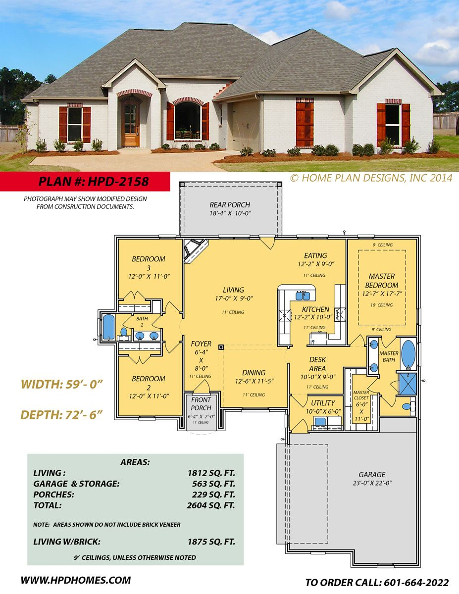 home plan designs www hpdhomes com judson wallace 601 664 2022