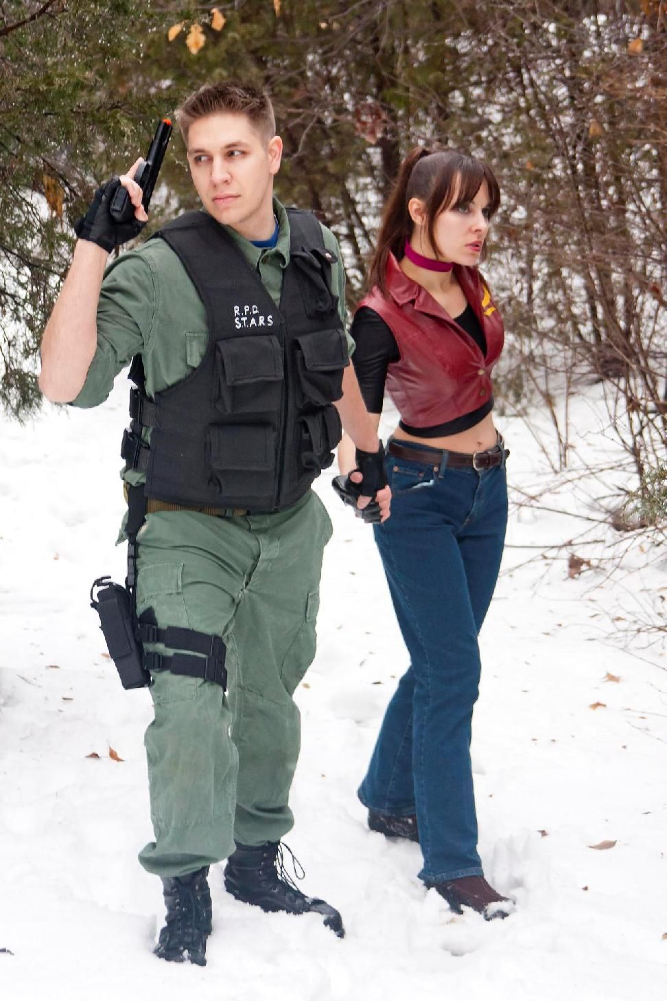 Siblings Reunited Chris Claire Redfield Resident Evil
