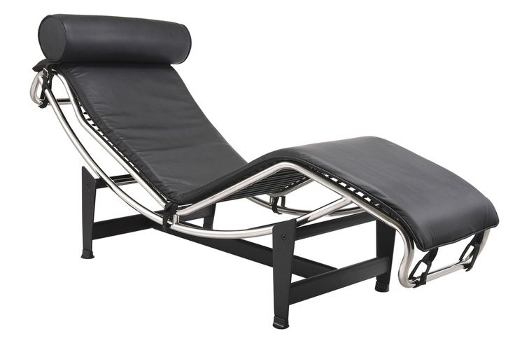 Poltrona chaise longue le corbusier charles edouard jeanneret