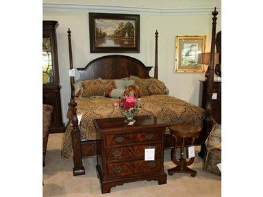 Shop For Goods Furniture Outlet   Charlotte The King Poster Bed By Hyde  Park Fine Furniture