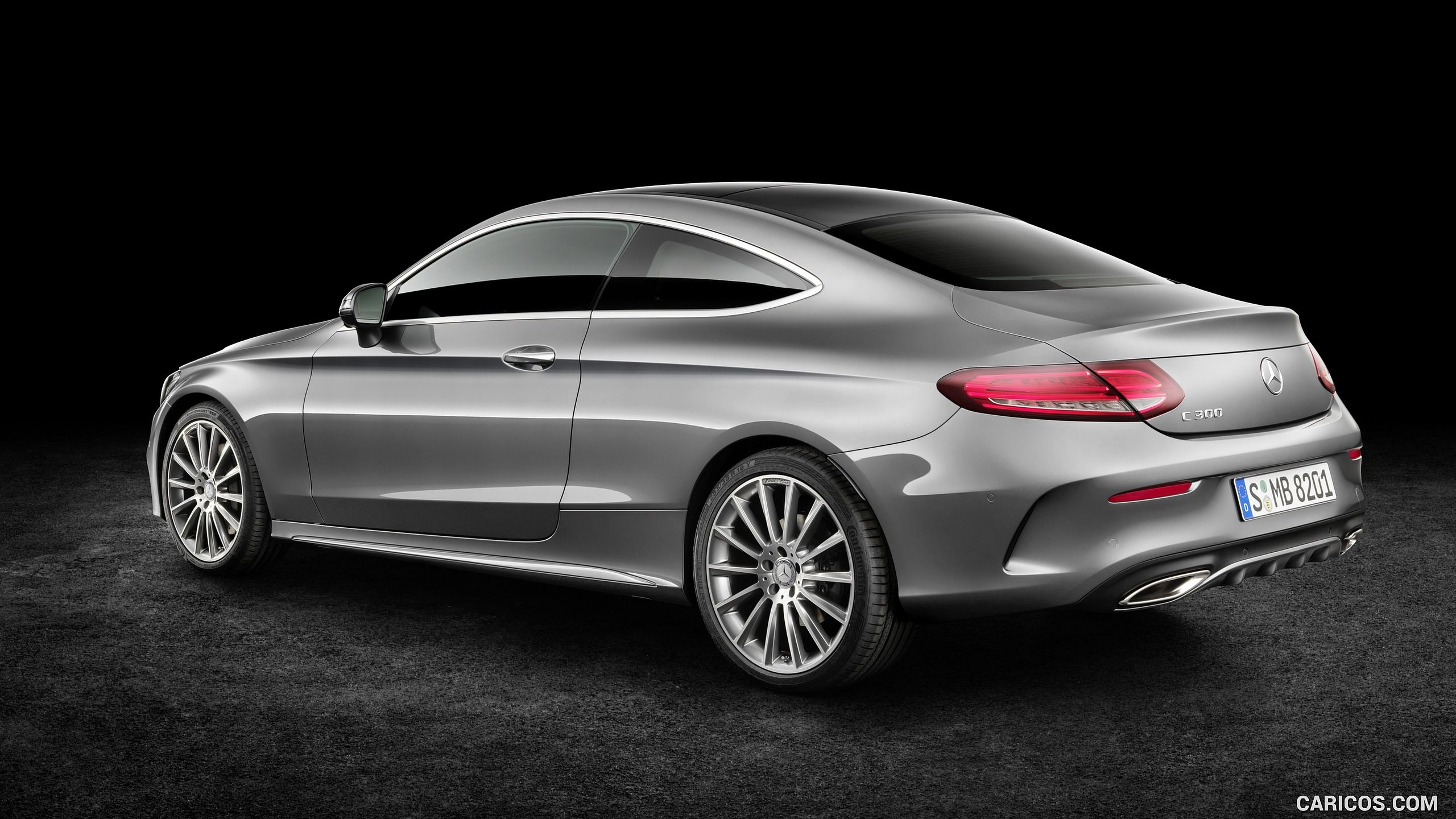 2017 Mercedes Benz C Class Coupe Wallpaper With Images