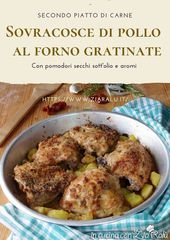 Photo of Baked chicken thighs au gratin – In the kitchen with Aunt R …